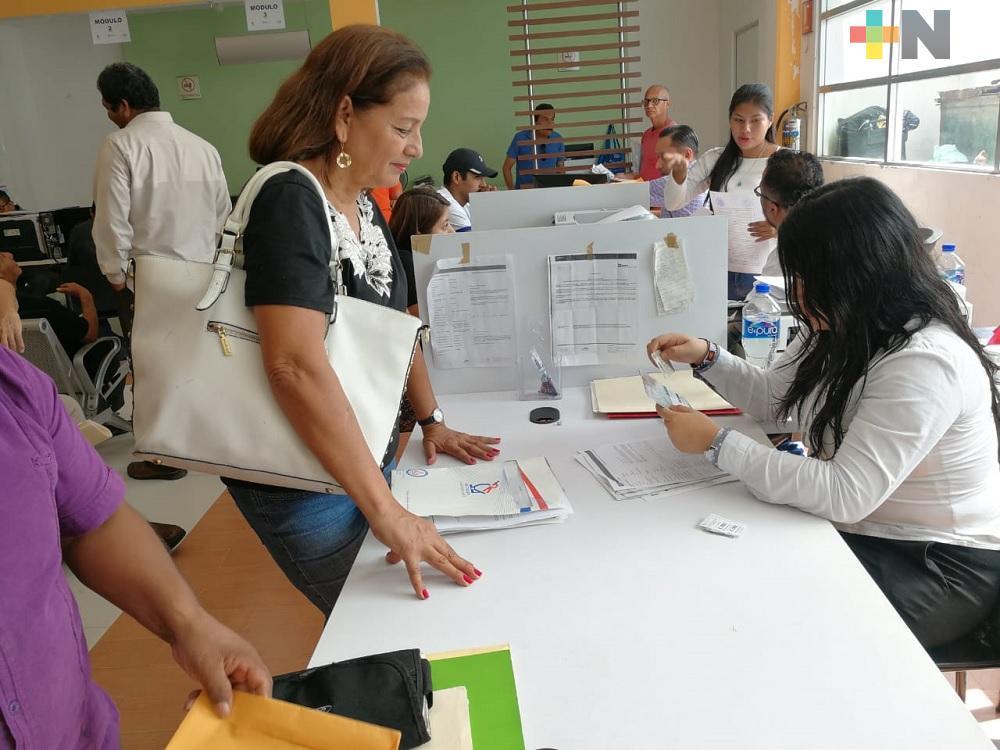 En municipio de Veracruz, ciudadanía ha respondido positivamente al programa «Borrón y Placas Nuevas»