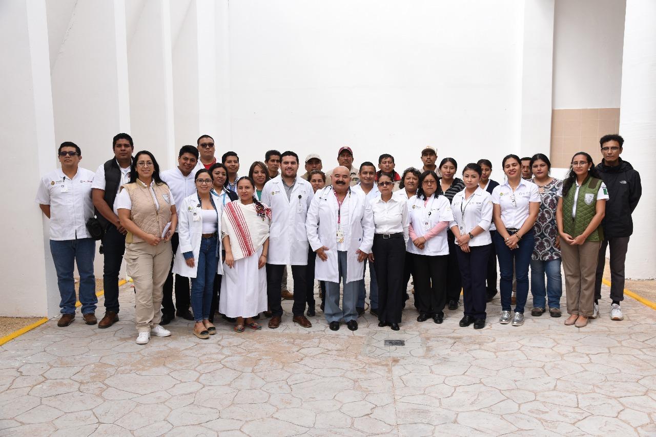 Instala Secretaría de Salud 9 módulos de atención médica en el Instituto Nacional de Migración