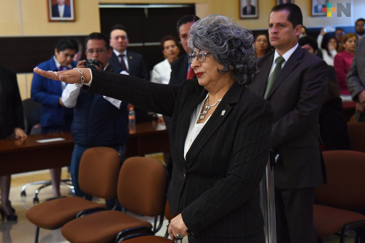 Magistrada Sofía Martínez Huerta, nueva presidenta del Tribunal Superior de Justicia y del Consejo de la Judicatura del Estado