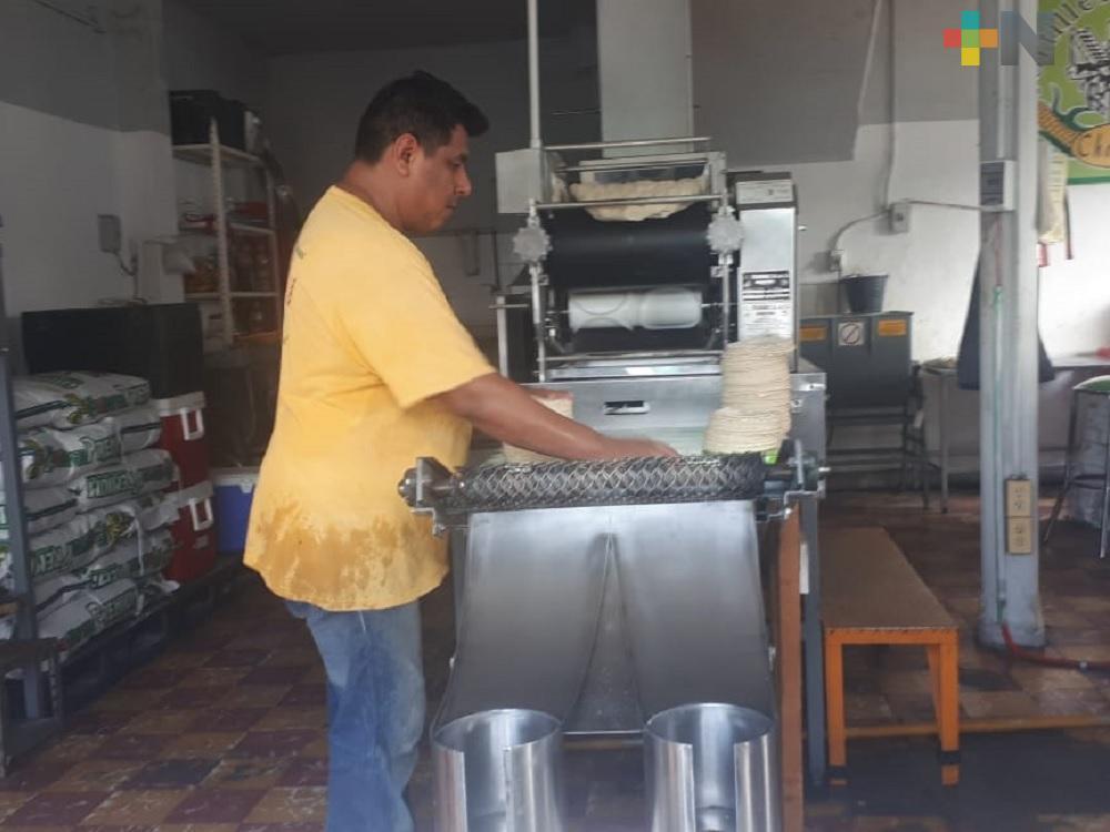 En zona Veracruz-Boca del Río aumentará precio de kilogramo de tortilla