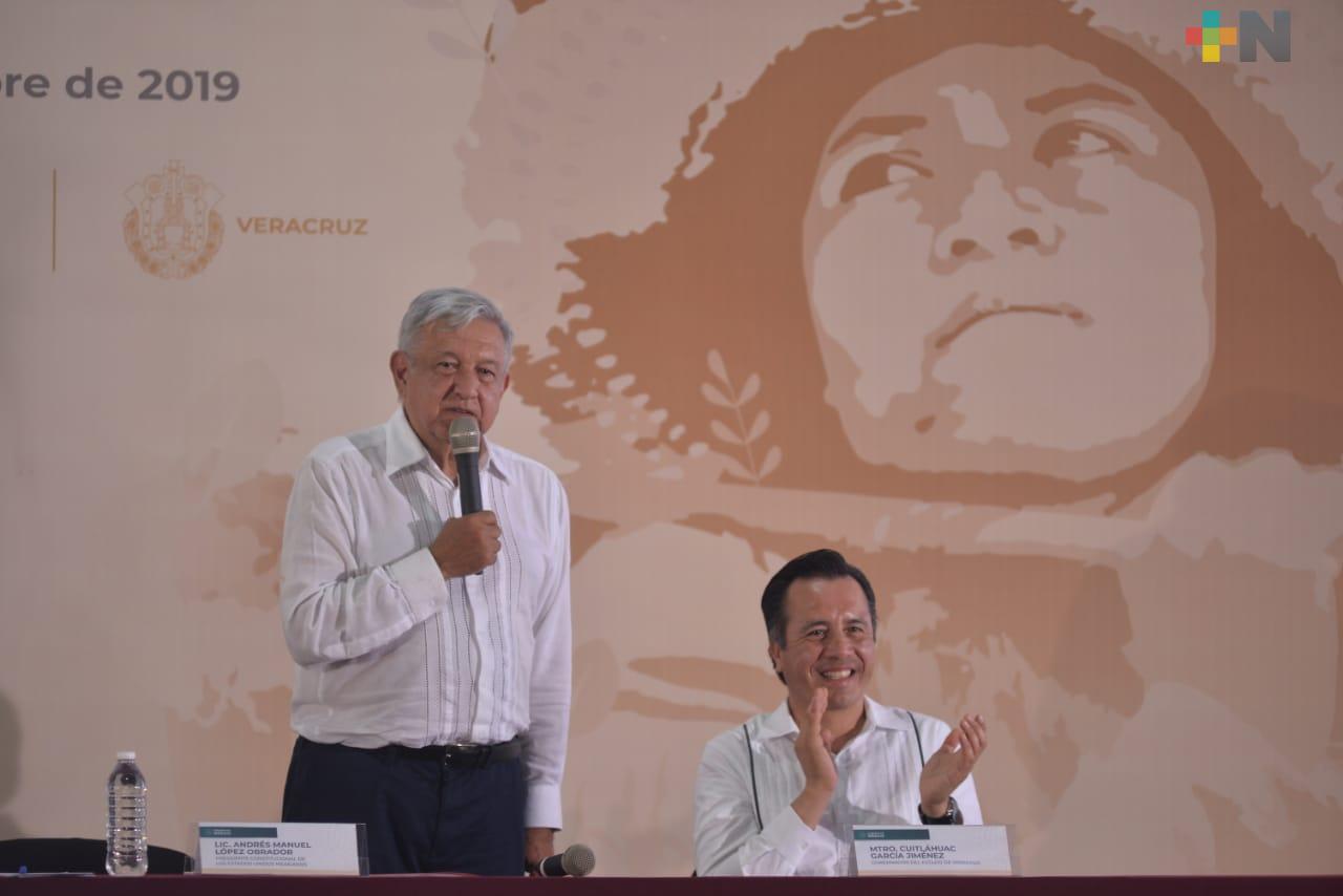 """Anuncia Presidente López Obrador ampliación de """"Sembrando Vida"""" en Veracruz"""