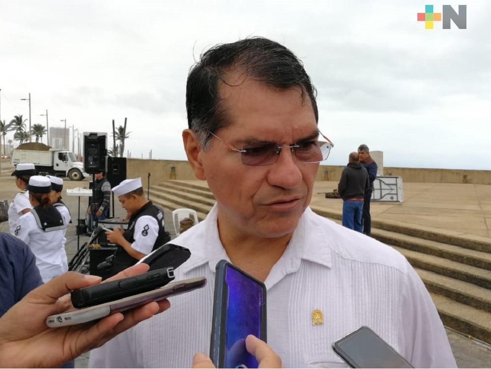 Recurso de Fortaseg se destinarán para formación de policía municipal en Coatzacoalcos: Alcalde