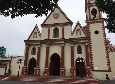 Iglesia de San Mateo, en Naolinco