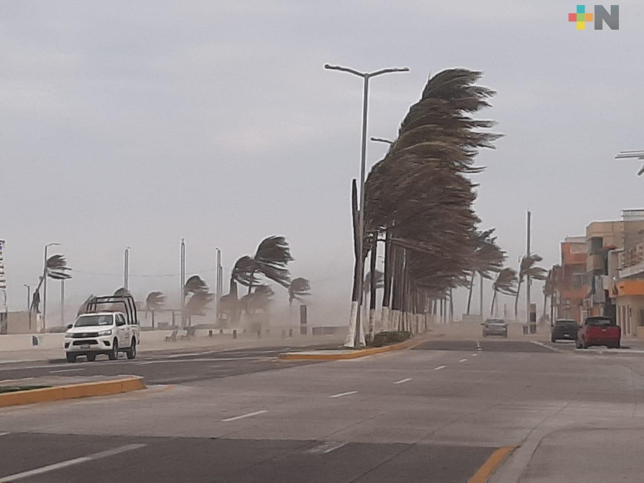 PC de Veracruz exhorta a tomar medidas de precaución ante Norte pronosticado