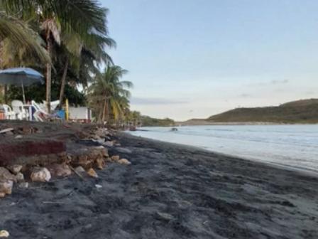Cambio climático ocasiona pérdida de litoral en Veracruz