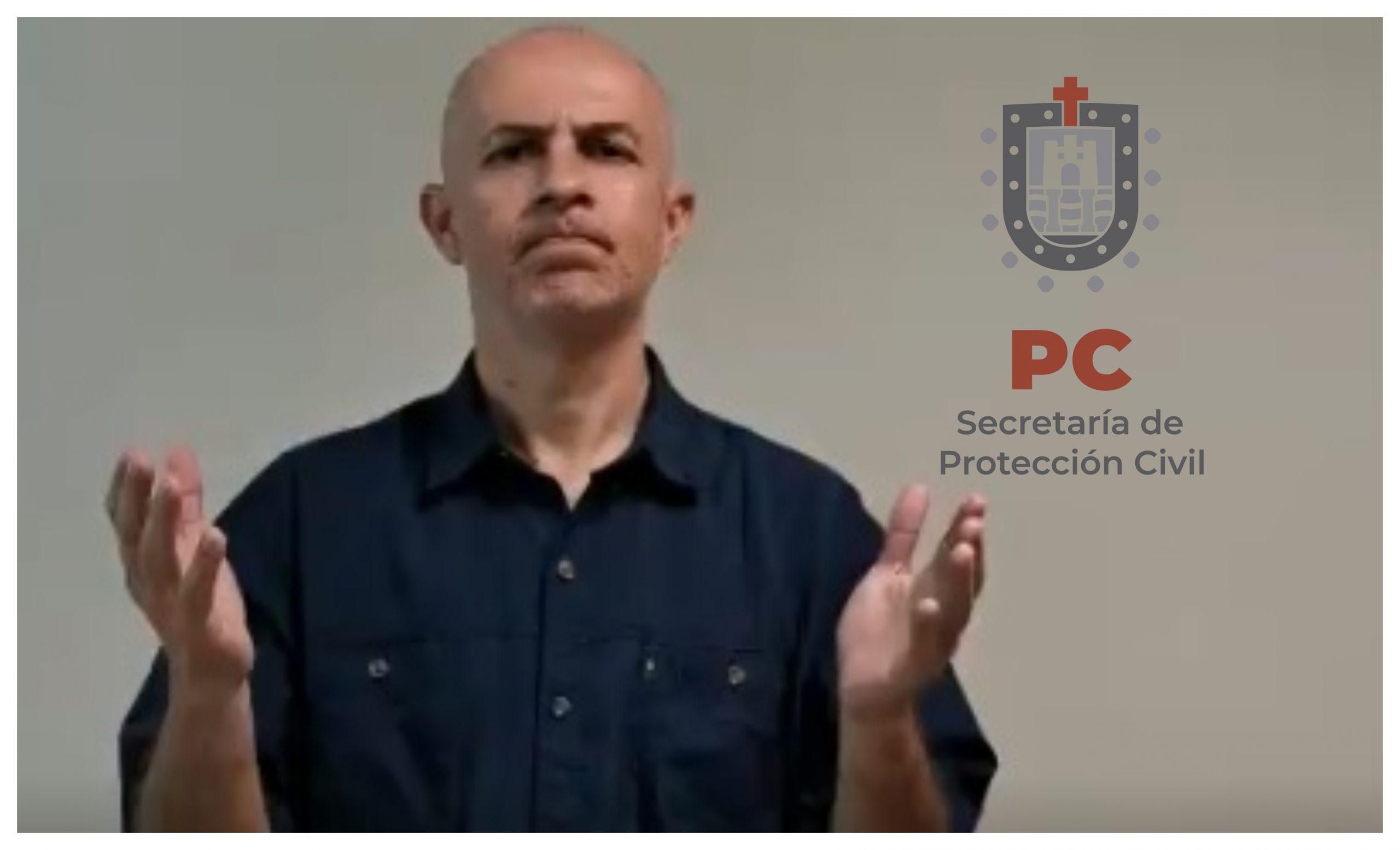PC difunde pronóstico del tiempo en Lengua de Señas Mexicanas