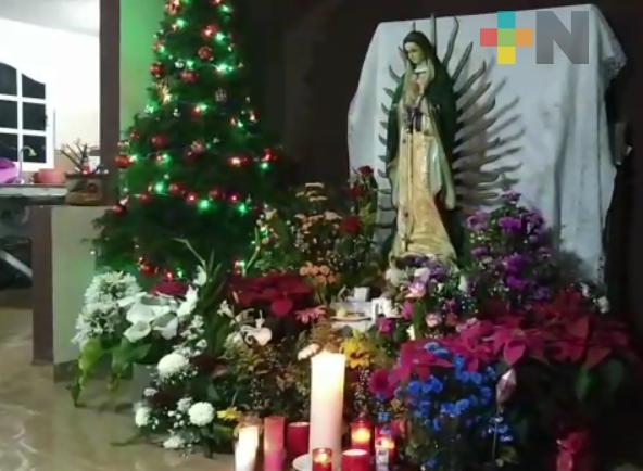 Taxistas se encomiendan a la virgen de Guadalupe