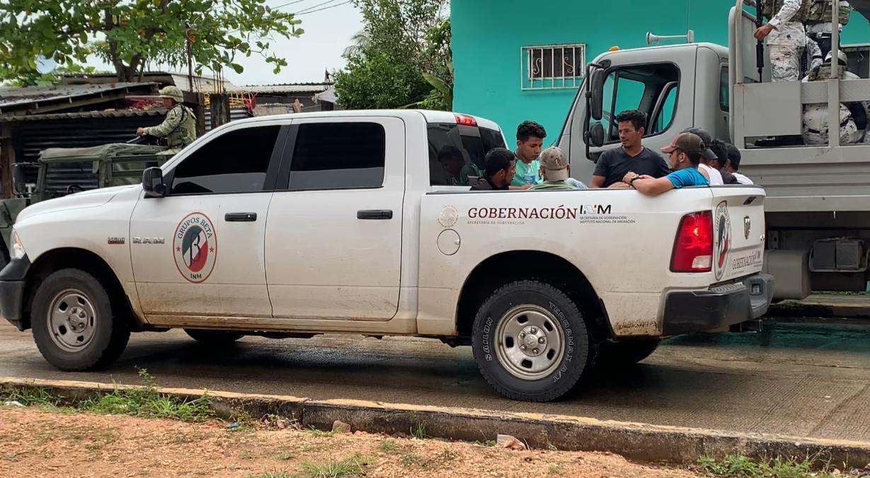 En forma voluntaria, migrantes centroamericanos se entregan; serán repatriados