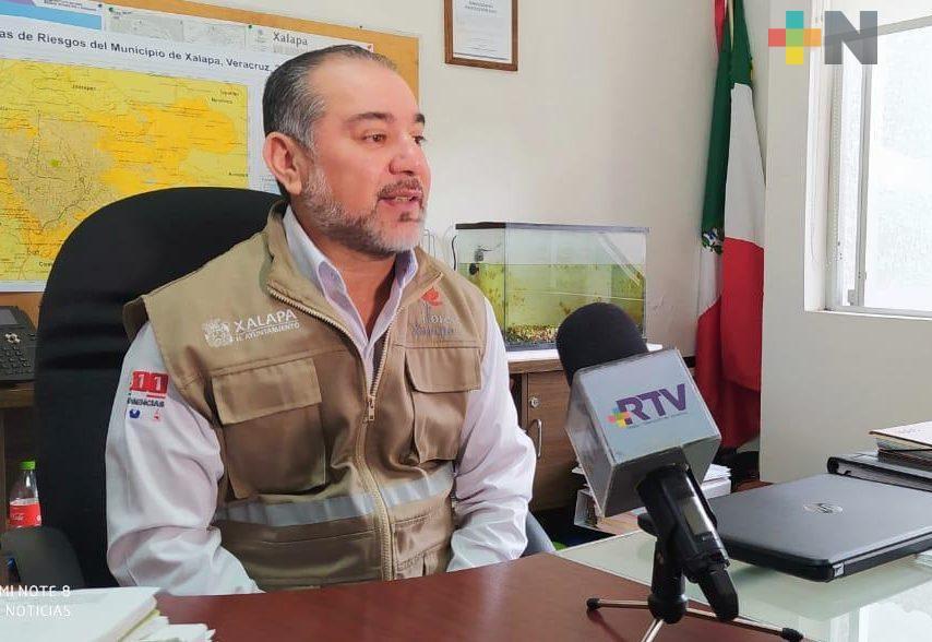 Por lluvias, PC municipal redobla vigilancia en colonias de alto riesgo en Xalapa