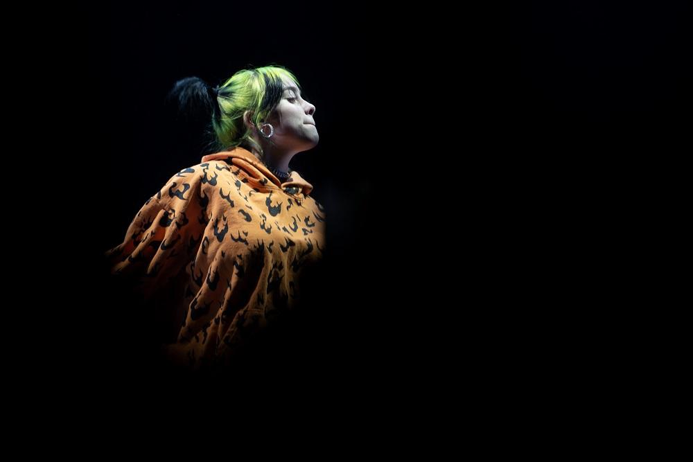 Billie Eilish se corona en los premios Grammy