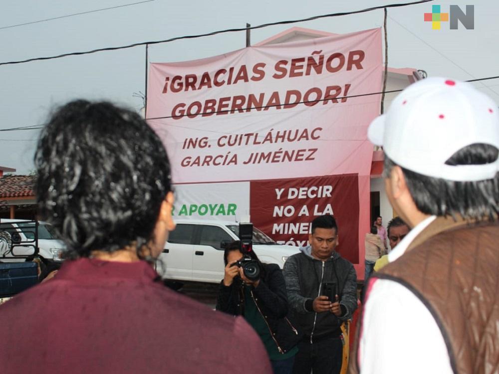 A toda costa se cerrará el paso a la minería a cielo abierto en Actopan: Gobernador de Veracruz