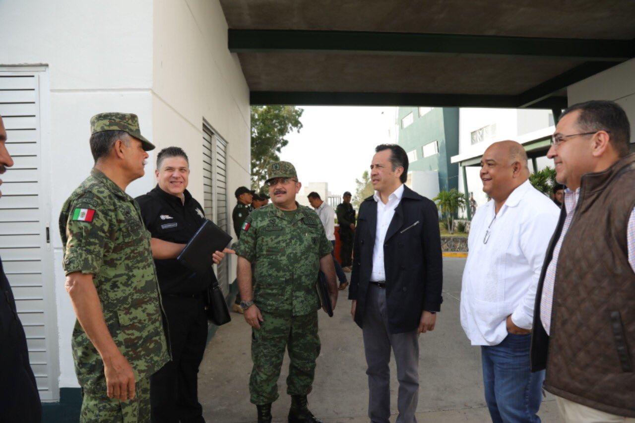 Coordinación entre los tres niveles de gobierno, clave para restaurar la paz en Veracruz: Cuitláhuac García