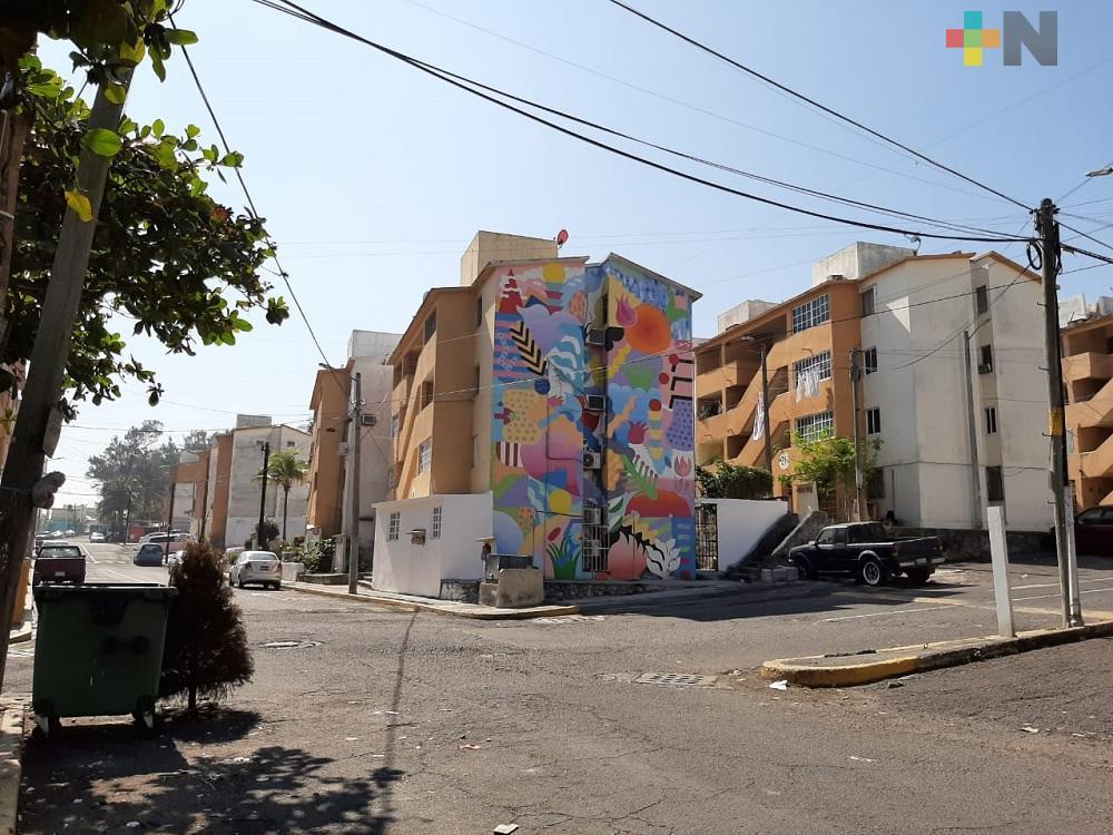 Convertirán la unidad habitacional del Infonavit El Morro en un distrito de arte