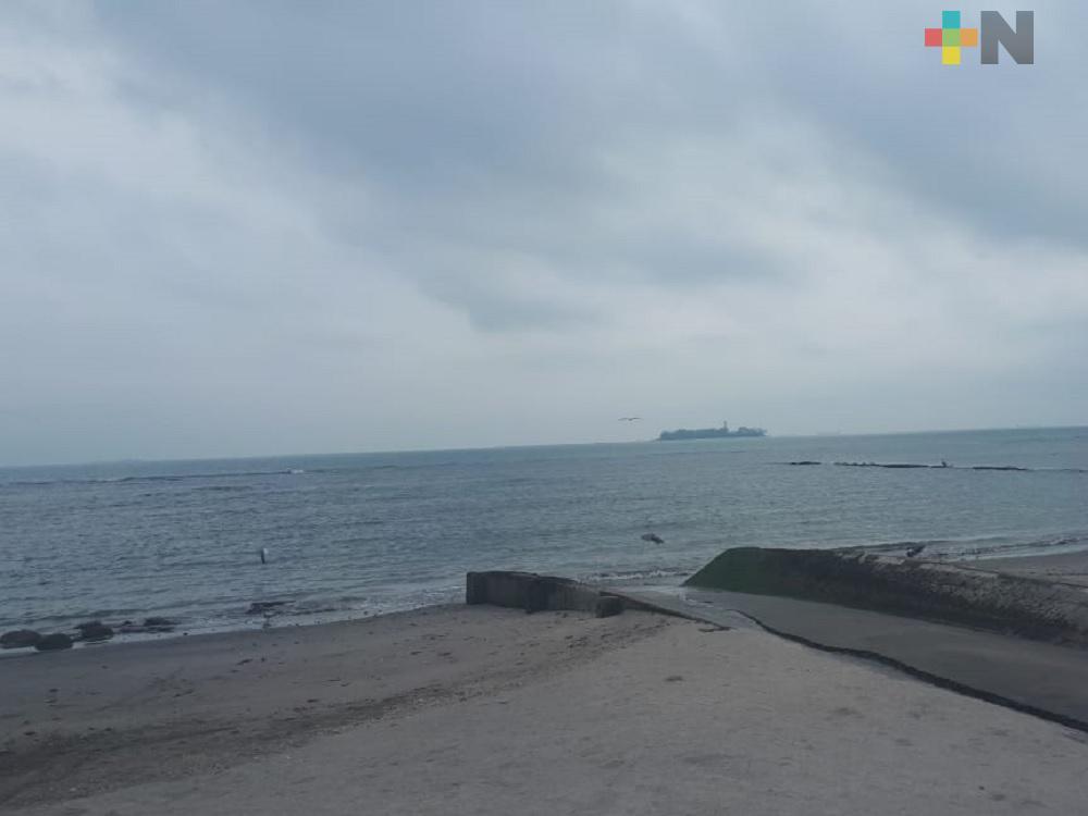 Frente Frío 33 provocará evento de Norte en zona Veracruz-Boca del Río