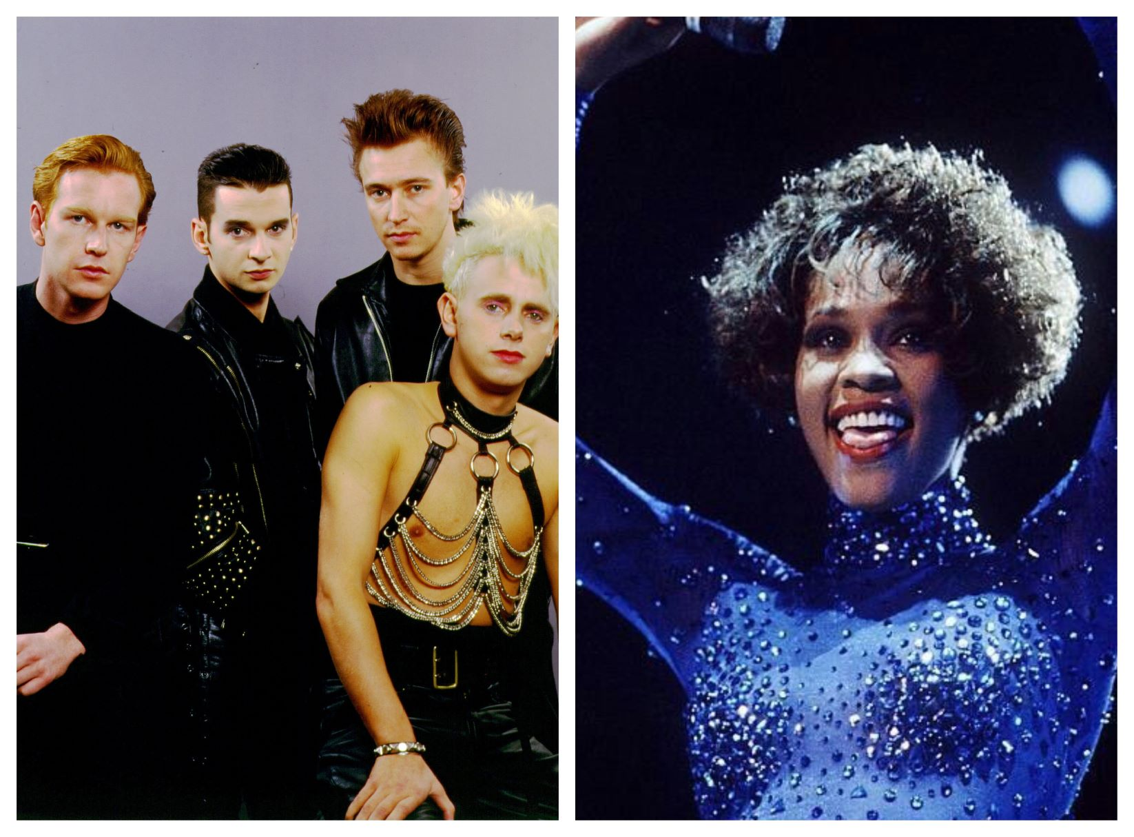 Whitney Houston y Depeche Mode, al Salón de la Fama del Rock & Roll