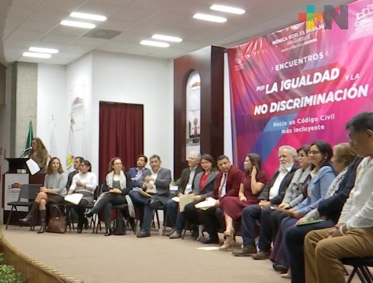 En Congreso del Estado realizan encuentro por la Igualdad y No Discriminación
