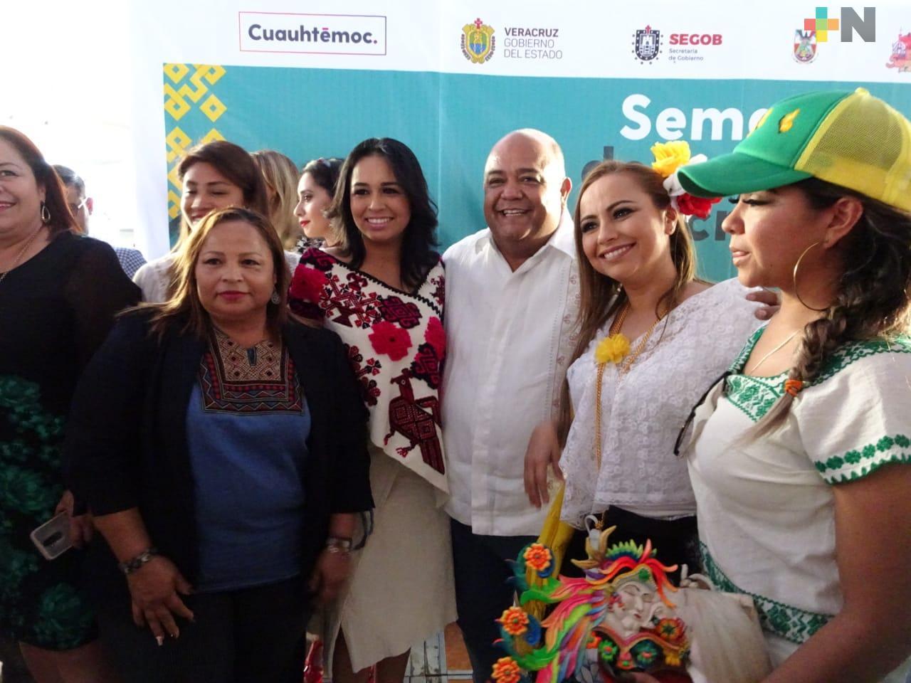 El próximo lunes en Ilamatlán, el Gobierno de Veracruz reconocerá a las mujeres, en especial a las indígenas: Eric Cisneros