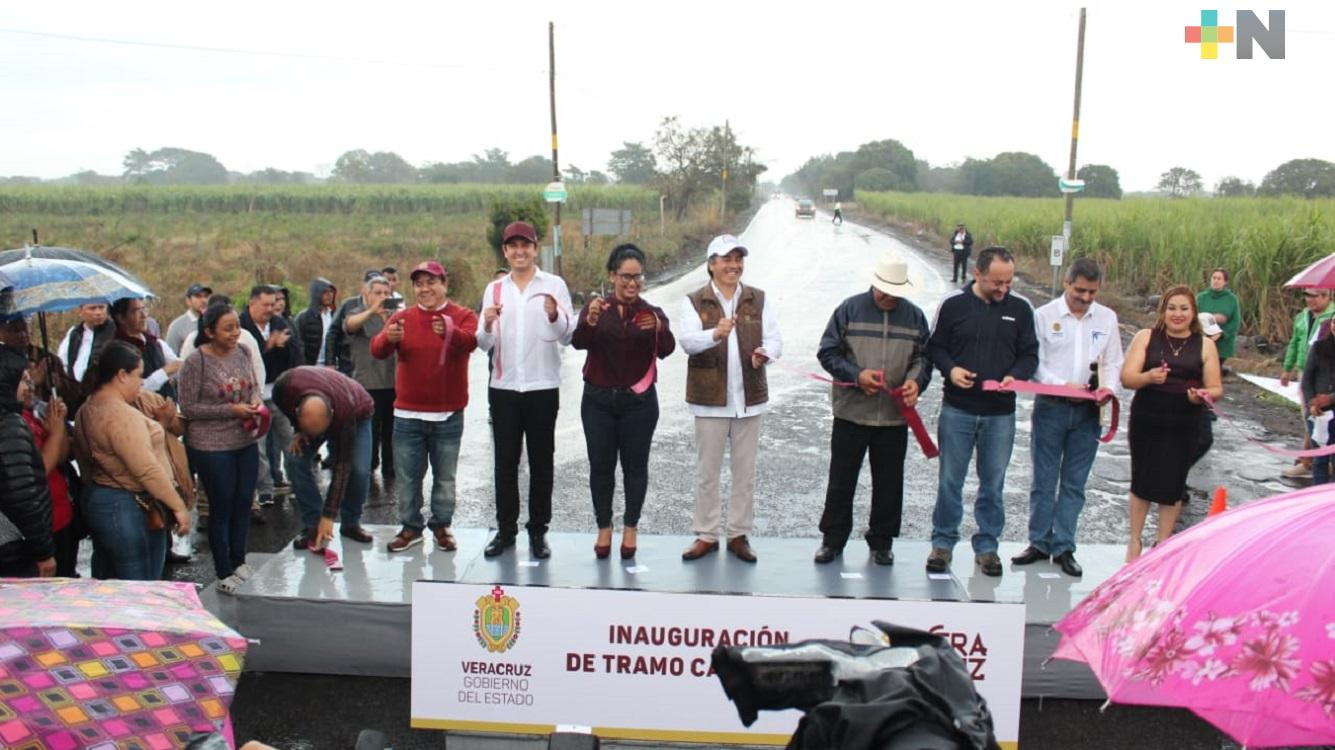 Gobernador Cuitláhuac García entregó obras que benefician a pobladores en Mozomboa, municipio de Actopan
