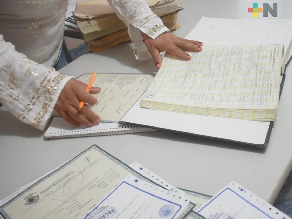 Instalan módulo itinerante del Registro Civil de Veracruz en delegación Cuauhtémoc de CDMX