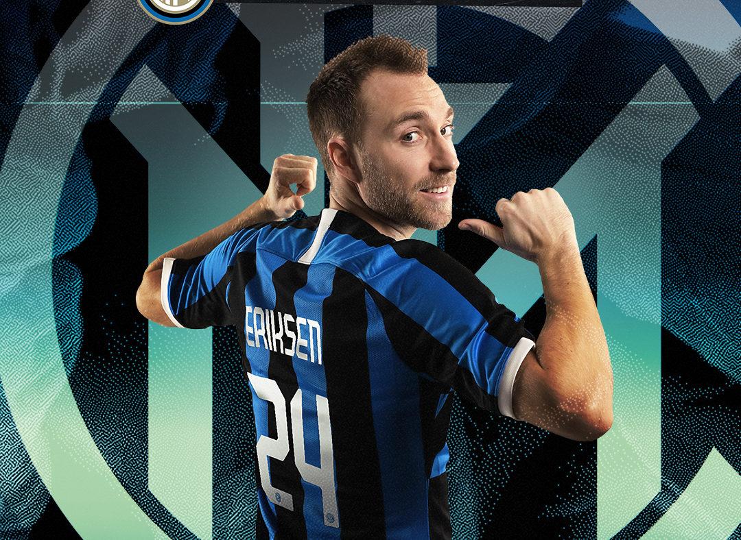Inter de Milán se refuerza con el danés Christian Eriksen