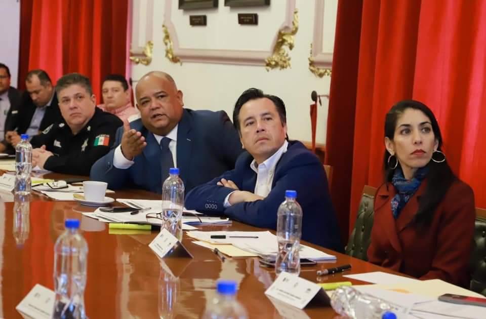 Se realizó la primera mesa de seguridad del 2020; la encabezó el gobernador Cuitláhuac García