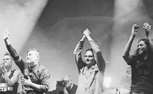 My Chemical Romance rompe récord en «show» de reencuentro