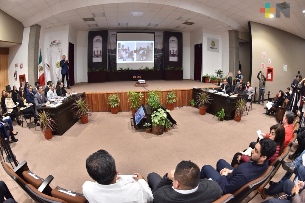 Atiende Congreso del Estado gestión de la CEDH durante 2019