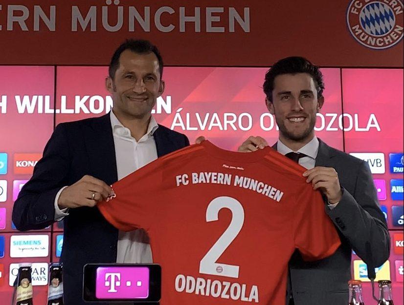 Bayern Múnich se refuerza con el español Álvaro Odriozola