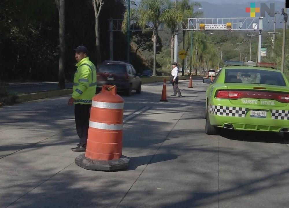 Operativos en carretera Xalapa–Coatepec no se interrumpen: Tránsito Xalapa