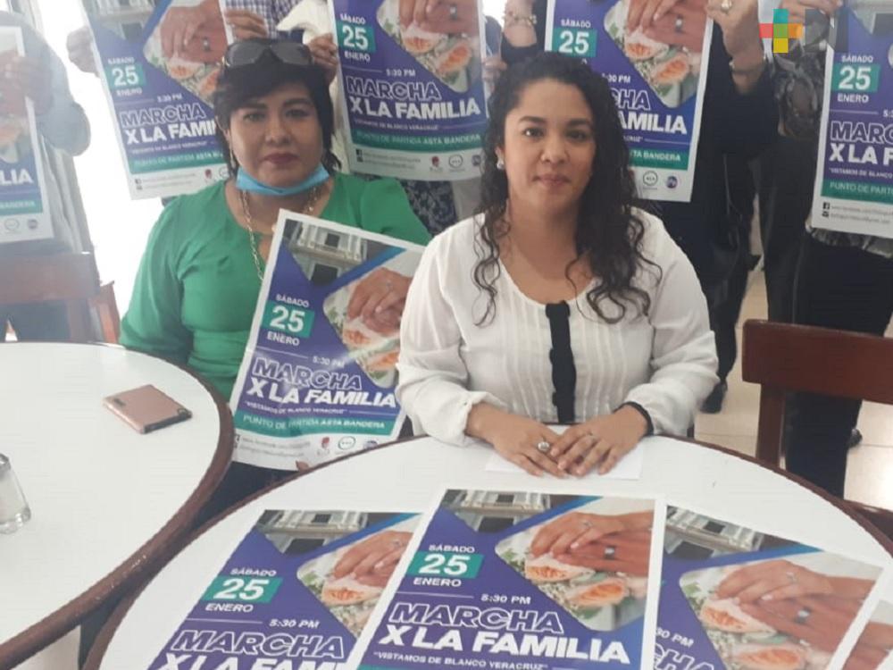 Organizaciones Pro Vida, convocan a marcha pacífica en el puerto de Veracruz