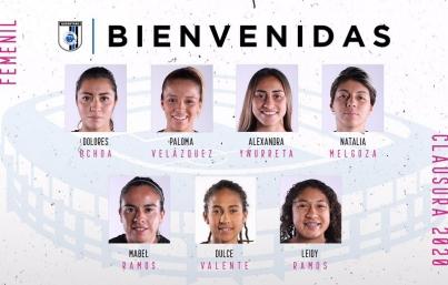 Querétaro femenil presenta siete refuerzos para Clausura 2020