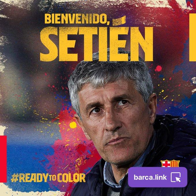 Barcelona y Valverde separan sus caminos; llega Setién al mando