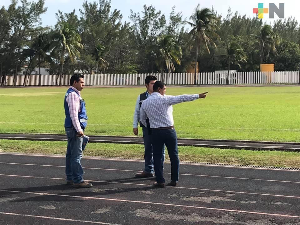 Inició la remodelación de la pista atlética en la Facultad de Educación Física UV
