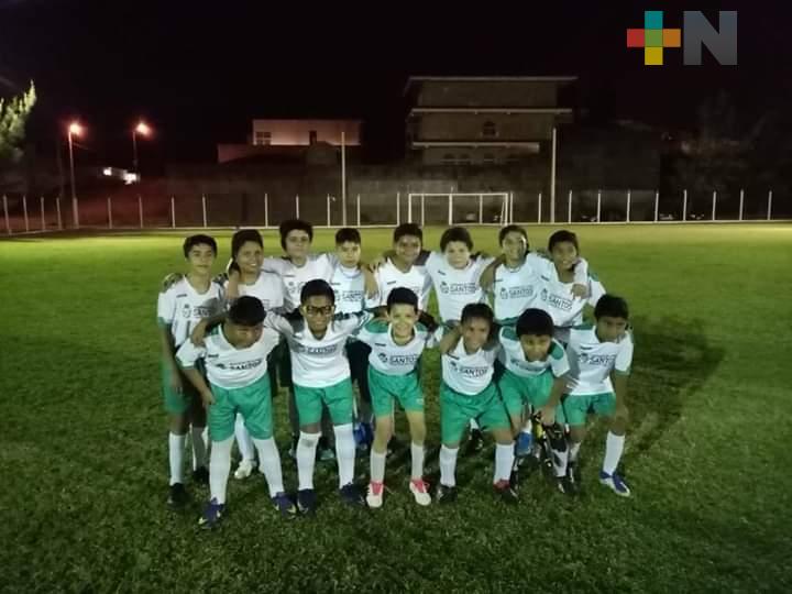 Santos Coatzacoalcos forma nuevos talentos para el futbol