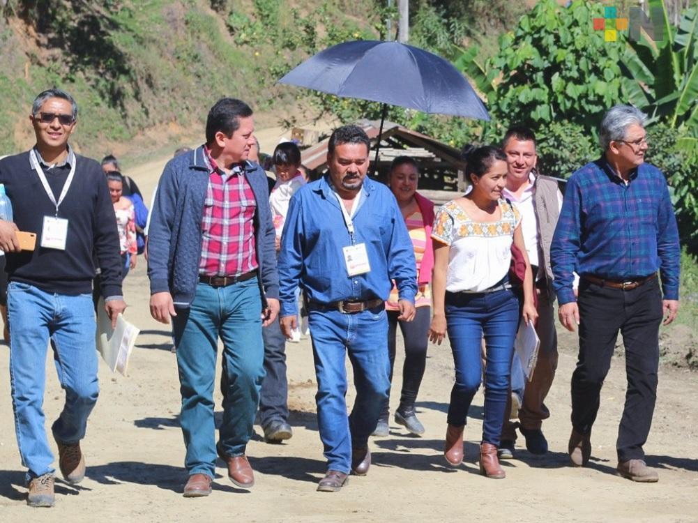 Sedesol estatal mantiene acercamiento en municipios de alta marginación en la Huasteca