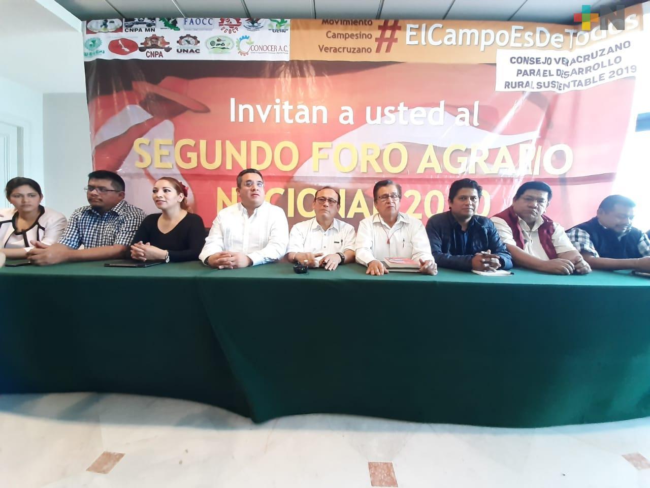 Incremento de más presupuesto al campo, piden organizaciones campesinas