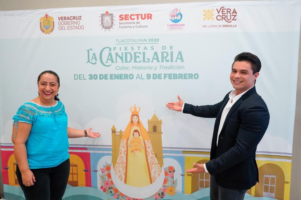 """Presentan SECTUR y Tlacotalpan, Fiestas de la Candelaria 2020 """"Color, Historia y Tradición"""""""