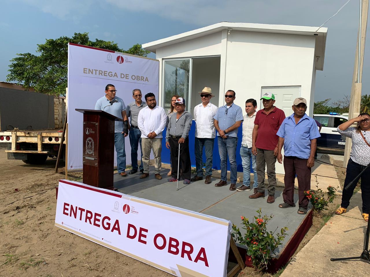 Funcionarán 30 casetas de vigilancia en Coatzacolcos, anuncia el alcalde