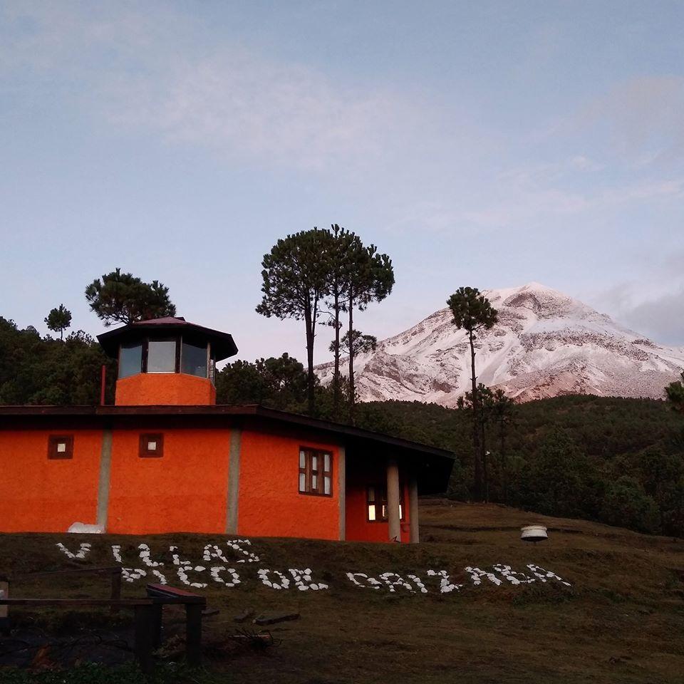 Cubierto de blanco, así amaneció el Pico de Orizaba