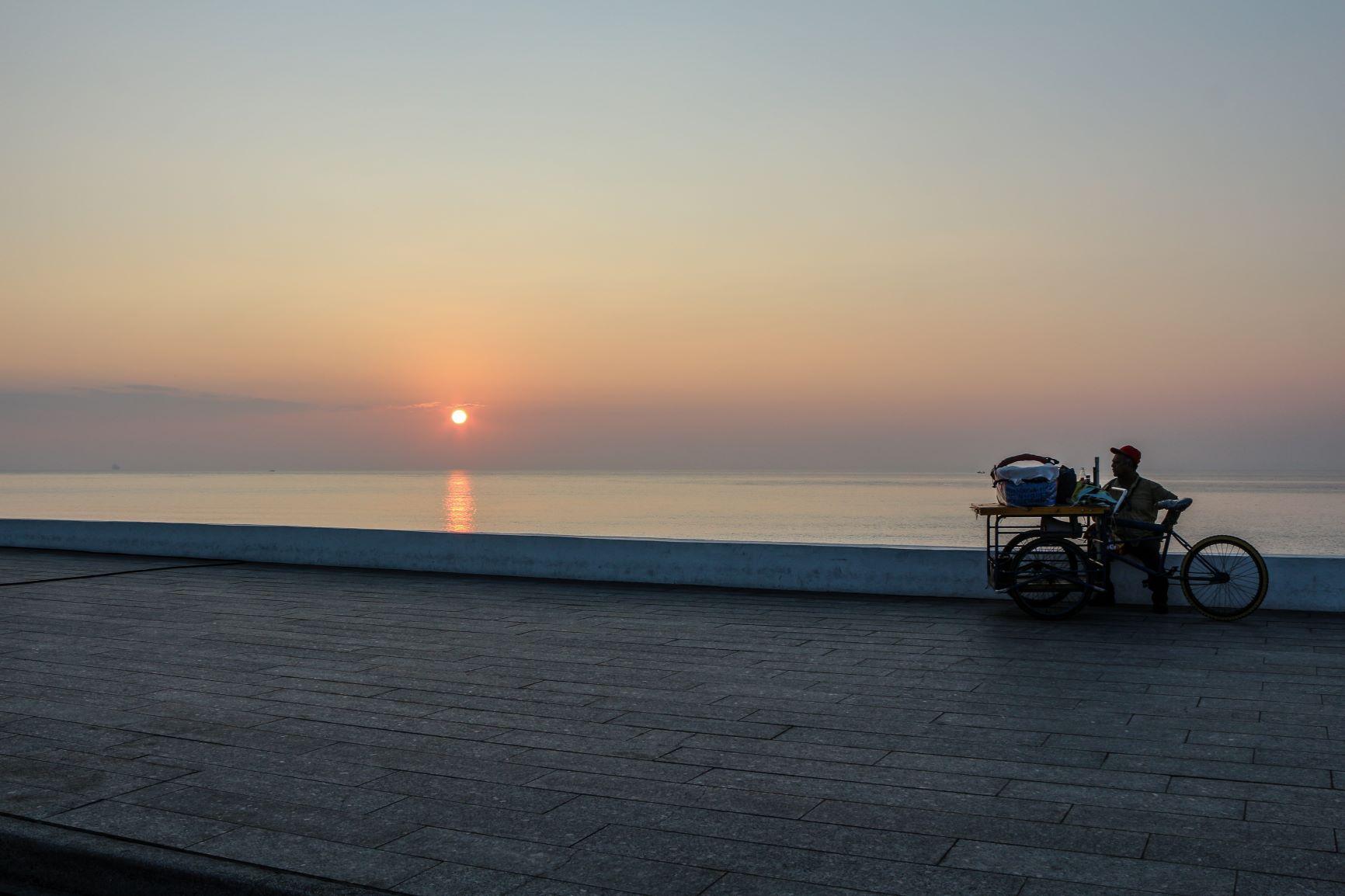 El volovanero y el mar, Boca del Río