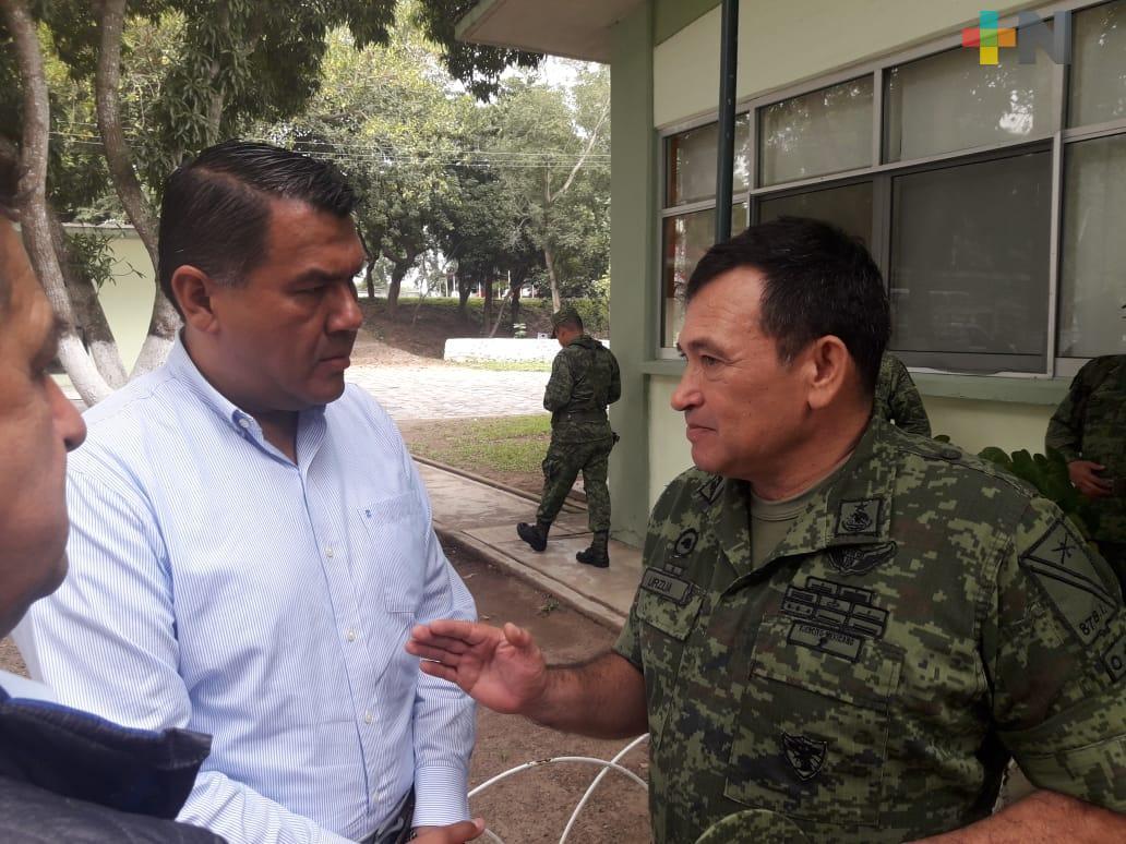 Alcaldes se despiden y agradecen labor del general José Silvestre