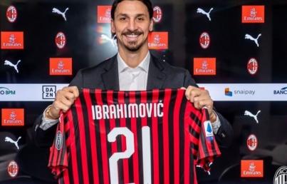 Zlatan Ibrahimovic desata la locura al aterrizar en Milán