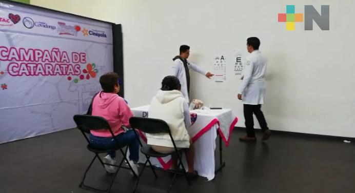 Proyecta DIF 100 cirugías de cataratas gratuitas en Ixtaczoquitlán