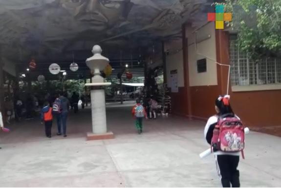 Refuerzan protocolos de entrega-recepción de alumnos en escuelas de educación básica