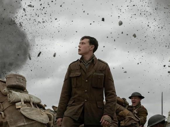 """Filme """"1917"""", la mejor de los Globos de Oro"""