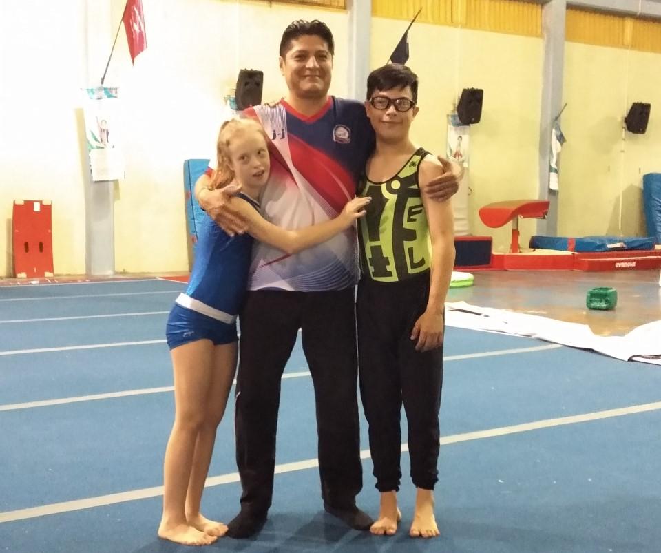 Wetzel y Palomares a Juegos Mundiales  de trisomía en Turquía