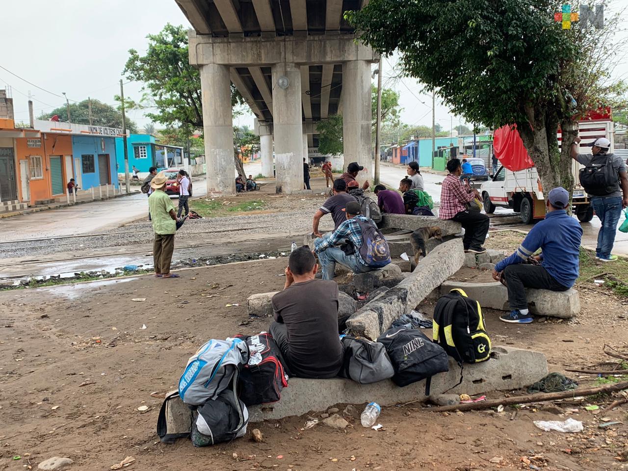 Disminuyó 95% de flujo migratorio en el estado de Veracruz