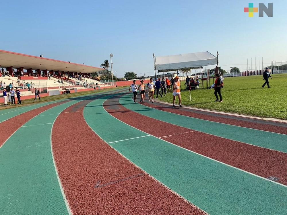 Con un costo de 15 mdp rehabilitarán pista de atletismo en Coatzacoalcos