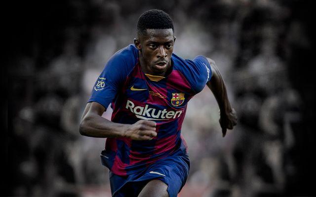 FC Barcelona confirma la lesión del francés Ousmane Dembélé