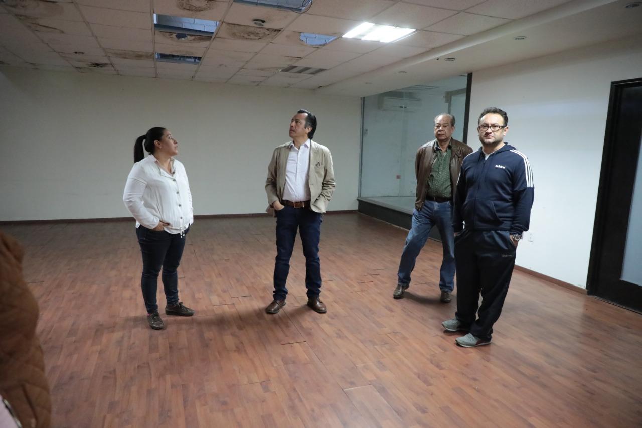 Busca Cuitláhuac reducir gasto en rentas ocupando propiedades abandonadas